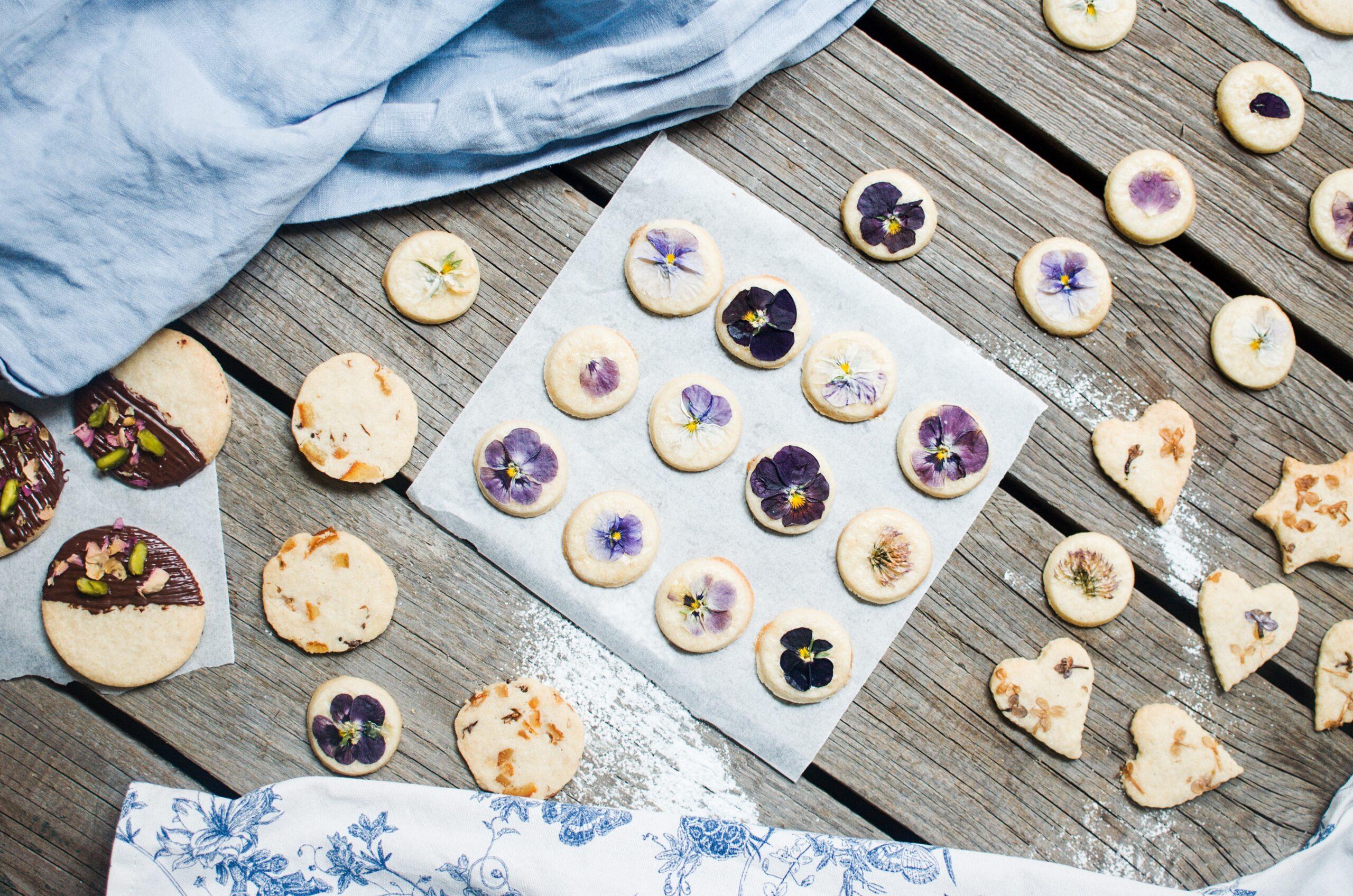 Rozkvetlé sušenky