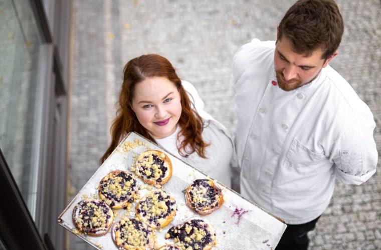 Ve vlastní šťávě: Kynutý koláč vám mimo to, že je dobrý, poskytne i nostalgický zážitek, vysvětluje majitelka koláčové pekárny Veronika Vavrová