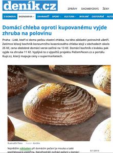 Denik 8. 7. 2013 http://www.denik.cz/ekonomika/domaci-chleba-oproti-kupovanemu-vyjde-zhruba-na-polovinu-20130708.html