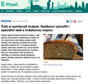 rozhlas.cz 22. 1. 2013 http://www.rozhlas.cz/plzen/zpravodajstvi/_zprava/1165467