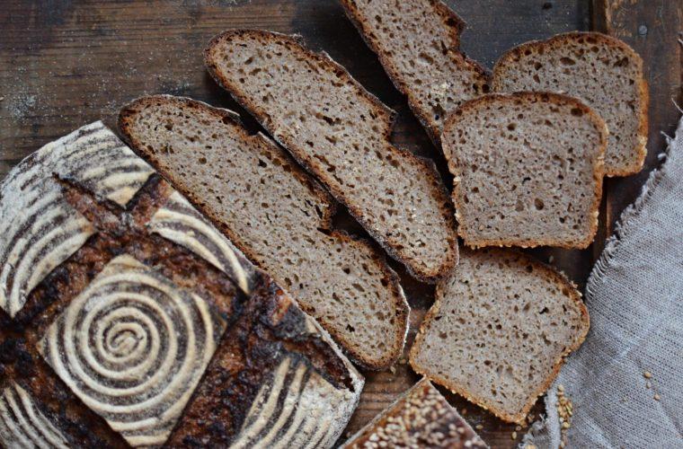 80% žitný kvasový chléb se spařenou žitnou moukou