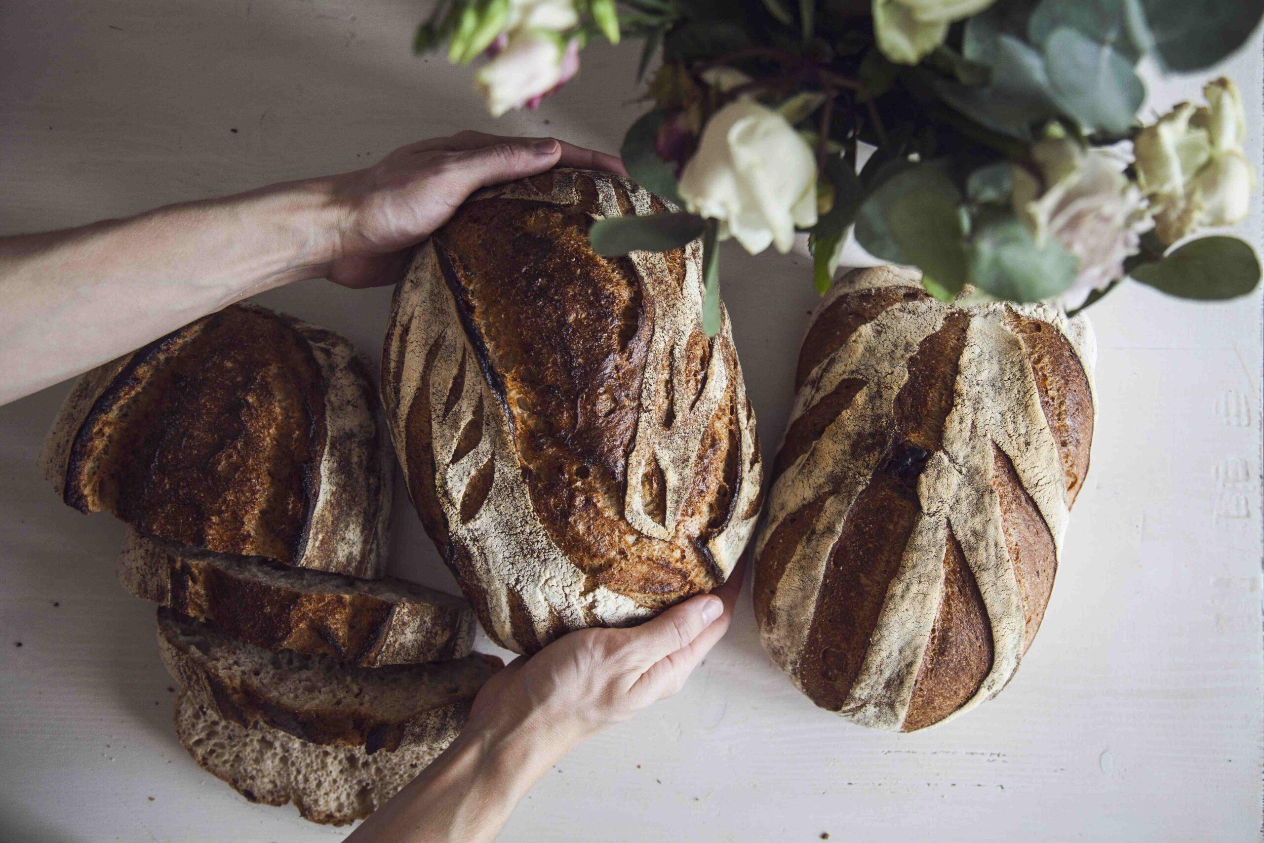 Pšeničný chléb s celozrnnou žitnou kaší