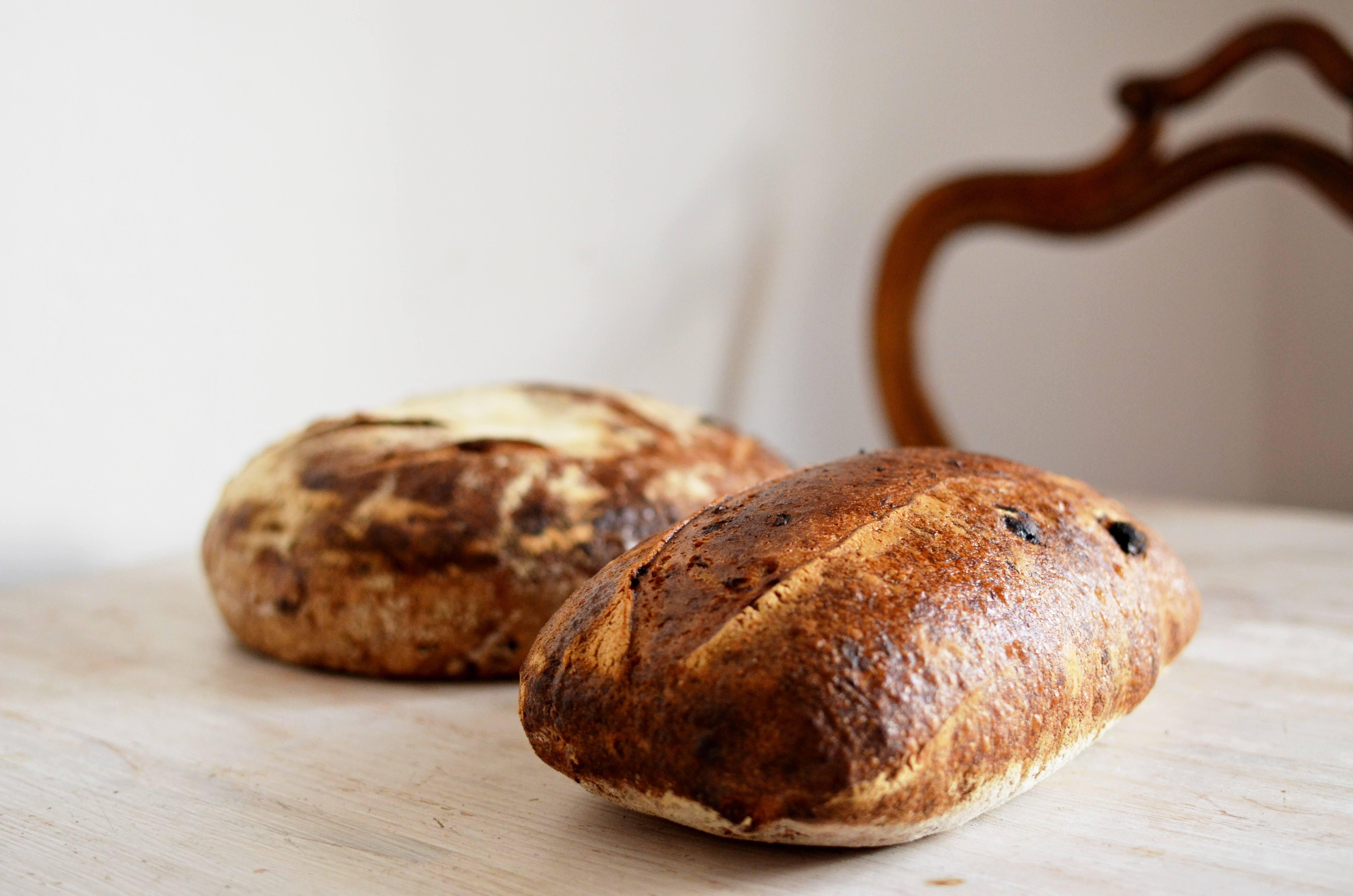 Podzimní chléb s dvouzrnkou a ovesnou kaší